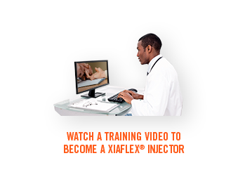 Watch a training video to become a XIAFLEX injector
